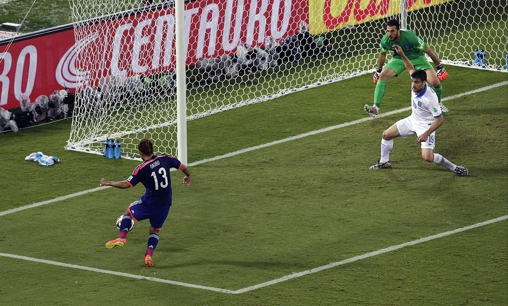 Самый реальный шанс открыть счет был на 69-й минуте у Есито Окубо, но он не попал в пустой угол
