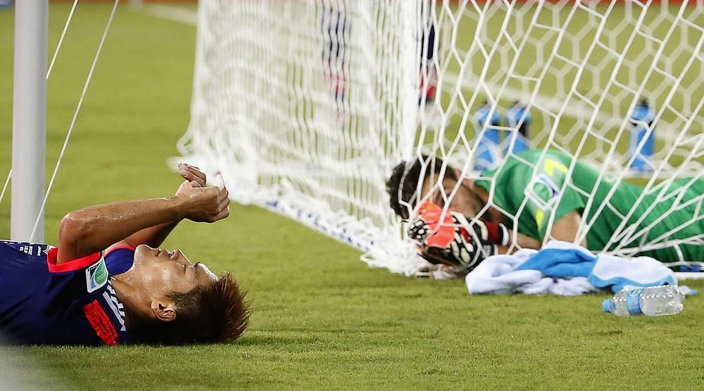 Разочарование японского футболиста