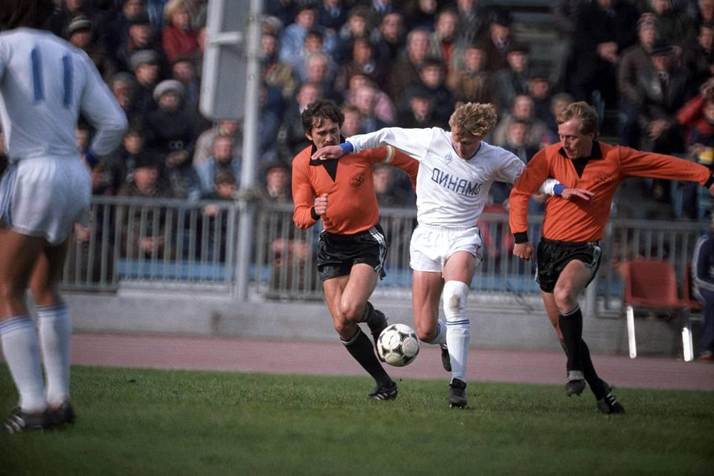 Игорь Колыванов - 12 голов. Участник чемпионатов Европы 1992 (в составе сборной СНГ) и 1996 года, но на чемпионатах мира так и не сыграл. Выступал еще в составе сборной СССР
