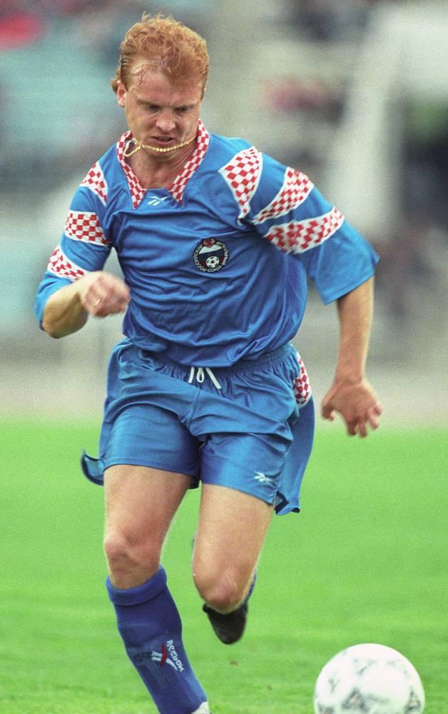 Сергей Кирьяков - 10 голов. Участник чемпионата Европы 1996 года, но на чемпионатах мира, как и Игорь Колыванов, так и не сыграл. Выступал на чемпионатах Европы 1992 (в составе сборной СНГ) и 1996 года