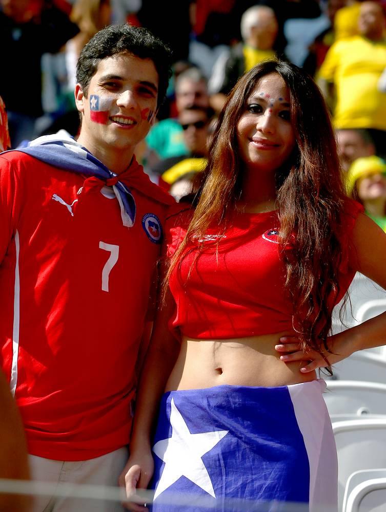 Чилийские фанаты