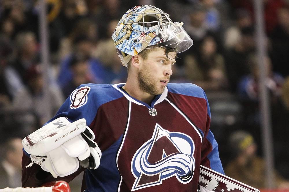 Вратарь Семен Варламов занял второе место в голосовании на звание лучшего вратаря НХЛ сезона-2013/14