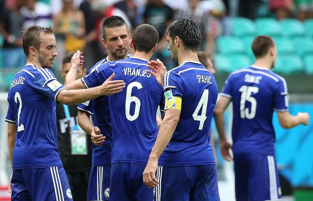 Дебютант этого турнира сборная Боснии и Герцеговины одержала первую победу в истории на чемпионатах мира