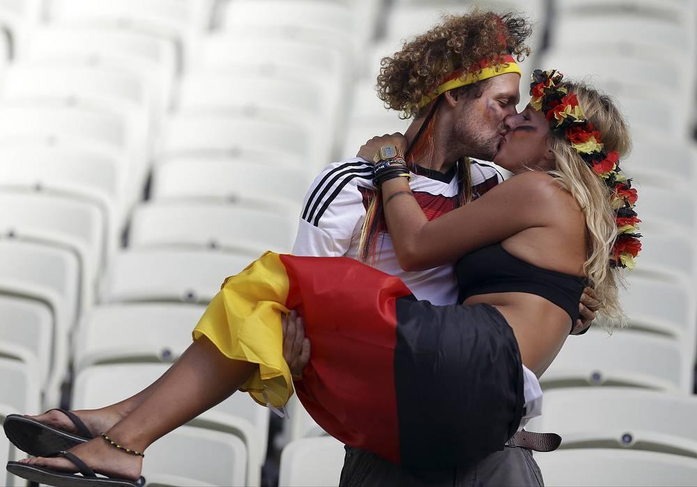 Немецкой паре некуда спешить после окончания матча