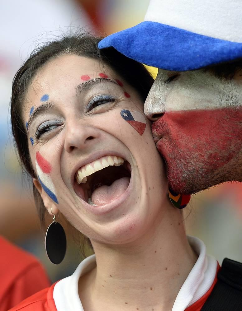 Не совсем французский, но приятный поцелуй