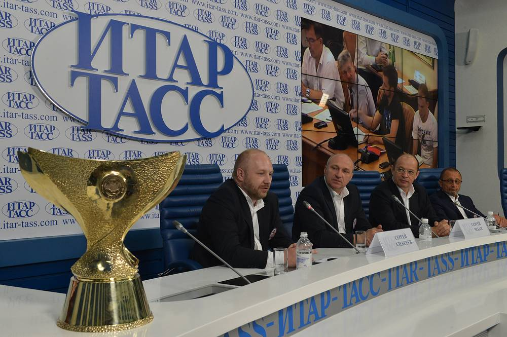 Пресс-конференция в ИТАР-ТАСС