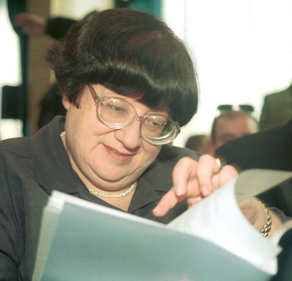 2002 год. Валерия Новодворская