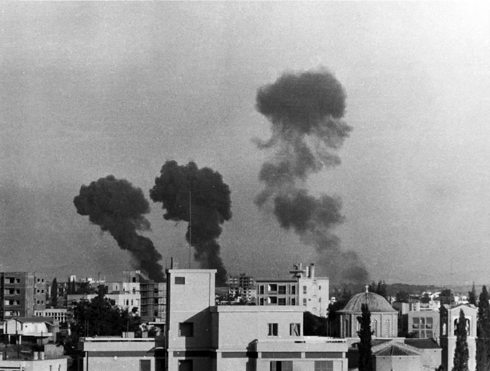 В боевых действиях принимали участие национальная гвардия Кипра, вооруженные силы Греции и турки-киприоты. Никосия, 20 июля 1974 года