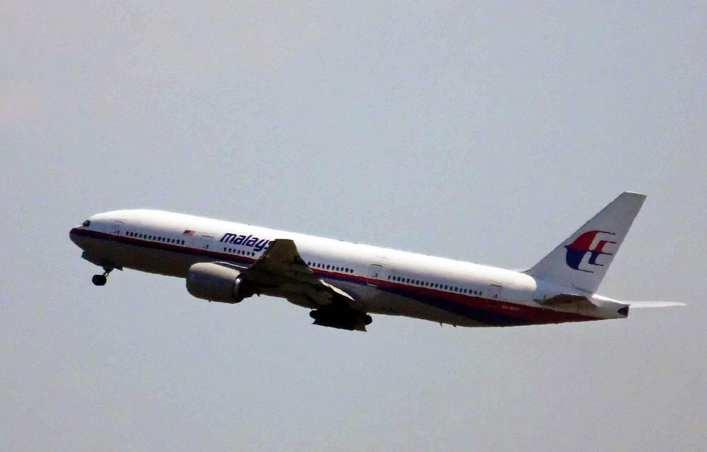 Рейс MH17 в небе над Амстердамом