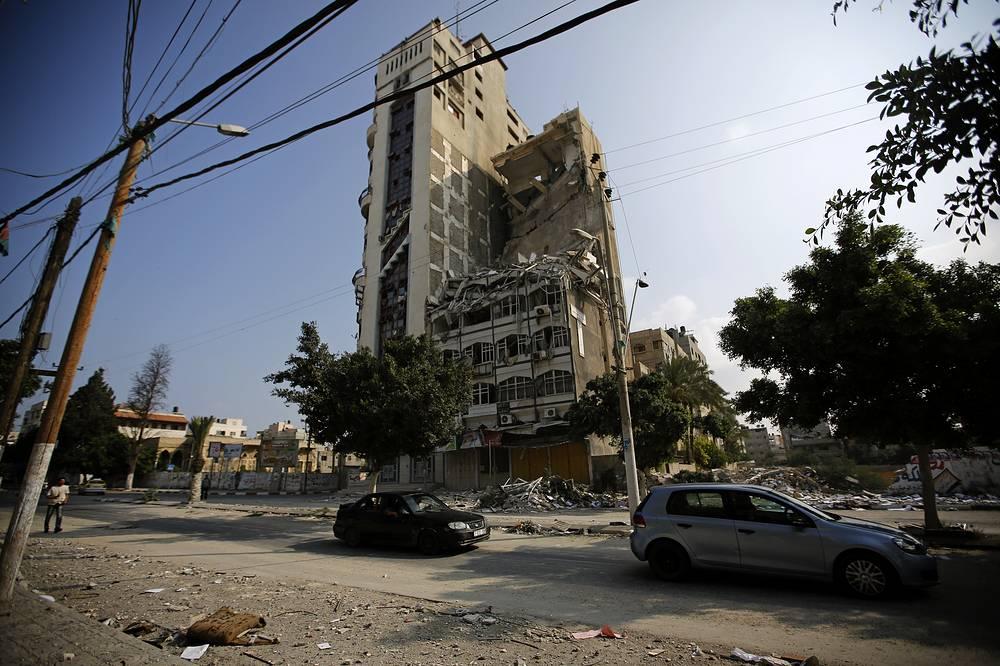 Разрушения в Газе