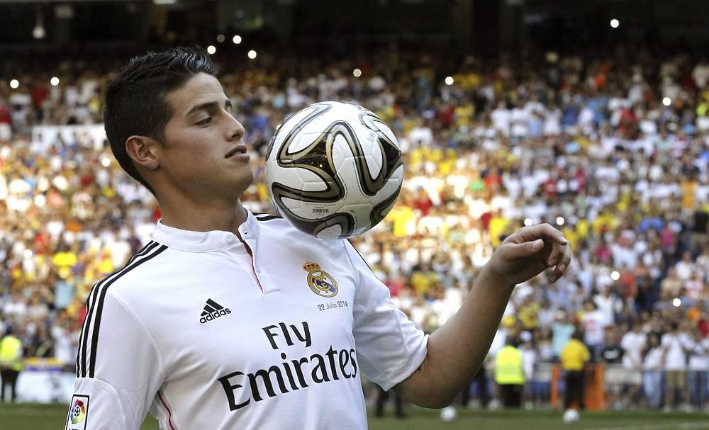 Гол, забитый Родригесом в ворота сборной Уругвая, был признан ФИФА самым красивым на ЧМ-2014
