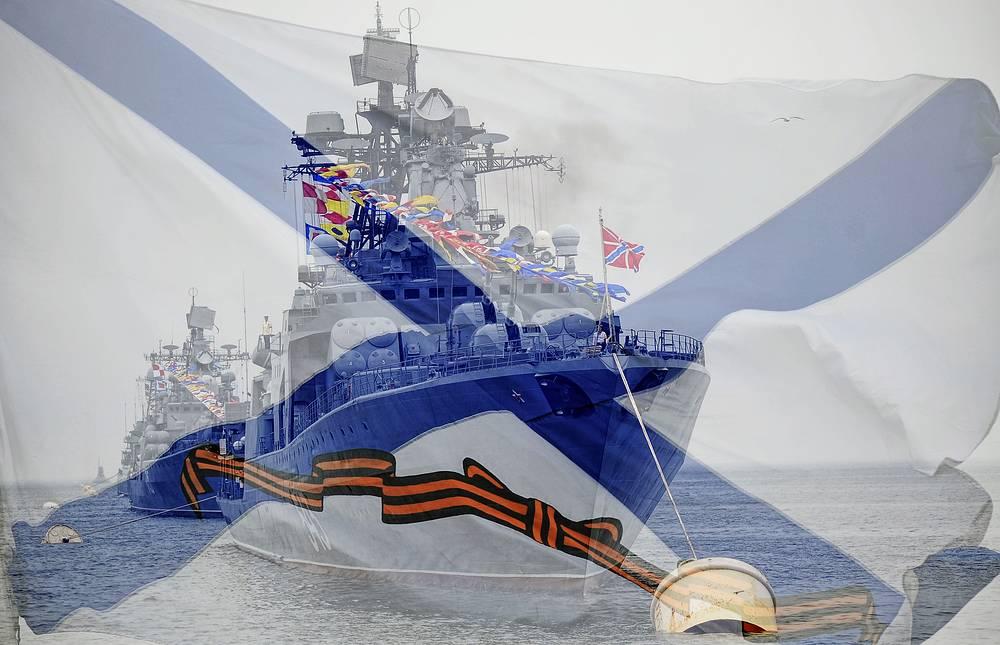 """Большой противолодочный корабль проекта 1155 """"Маршал Шапошников"""""""
