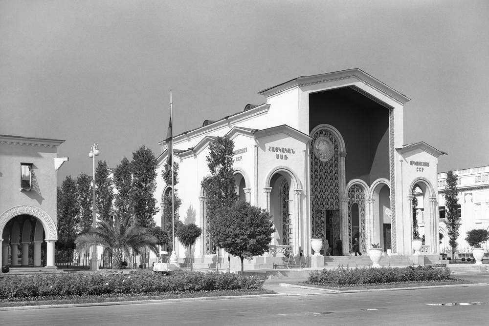 """Павильон """"Армянская ССР"""", 1956 год"""