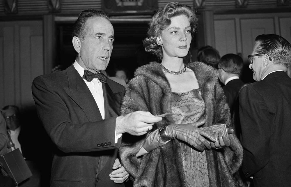 Лорен Бэколл с мужем Хамфри Богартом, 1952 год