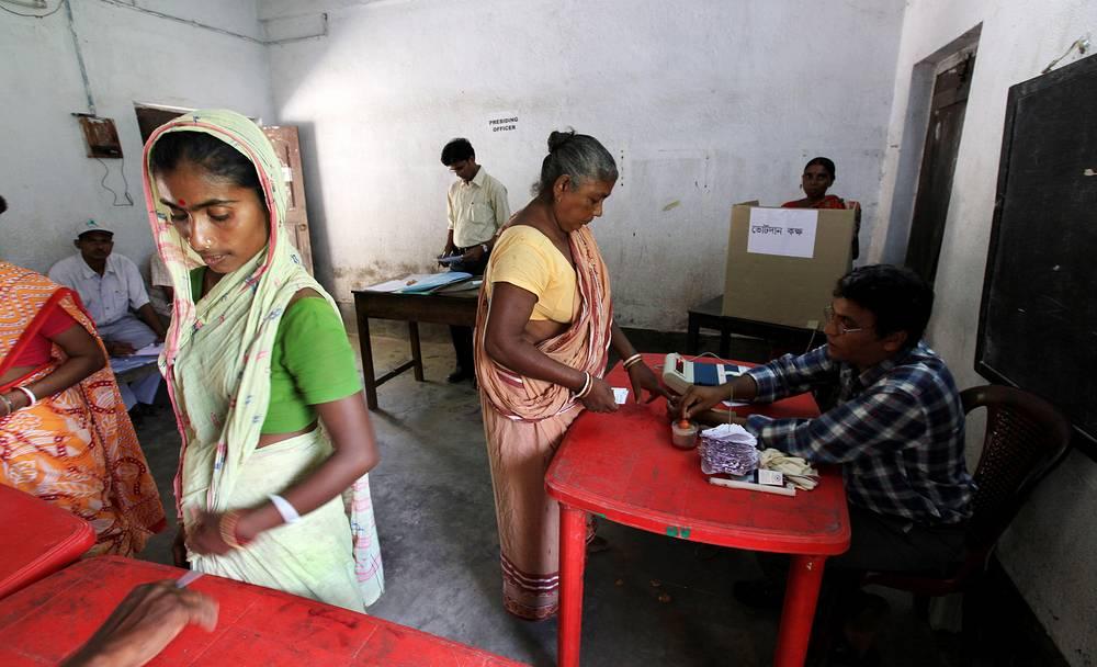 Выборы в Индии в законодательное собрание штата Западная Бенгалия, 2011 год