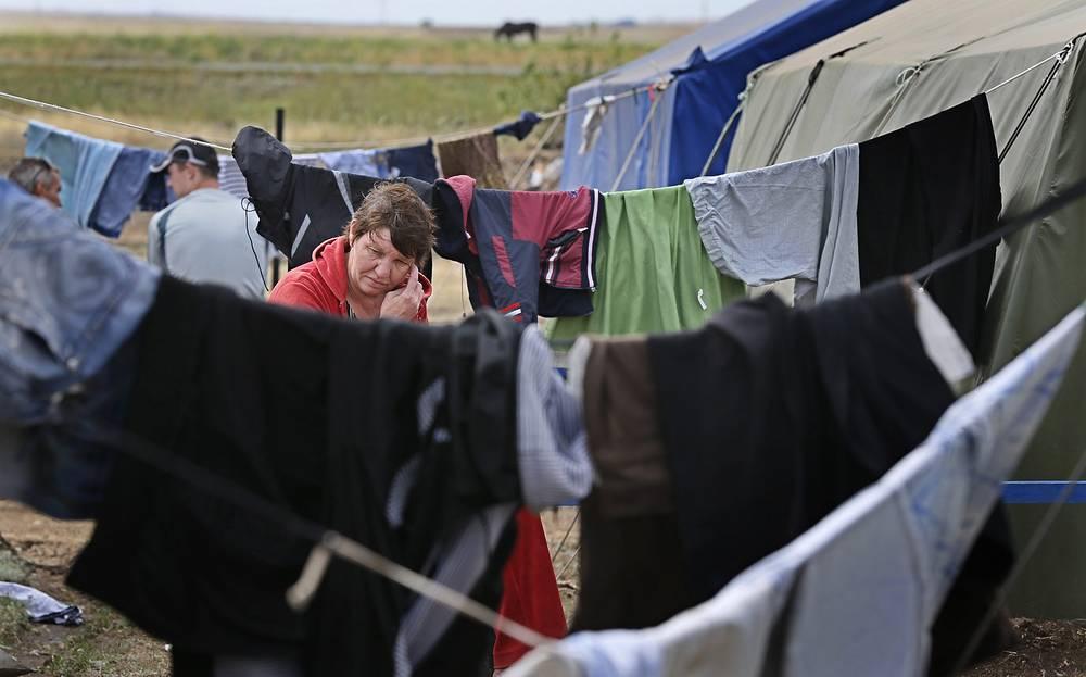 Как отмечают в ФМС, около половины украинских беженцев намерены остаться в России навсегда