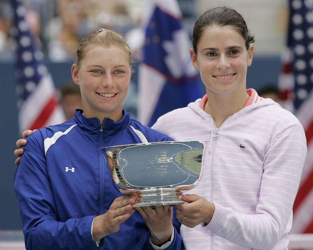 В том же 2006 году Вера Звонарева оформляет свой второй титул US Open. В паре с Натали Деши из Франции она выигрывает турнир в женском парном разряде