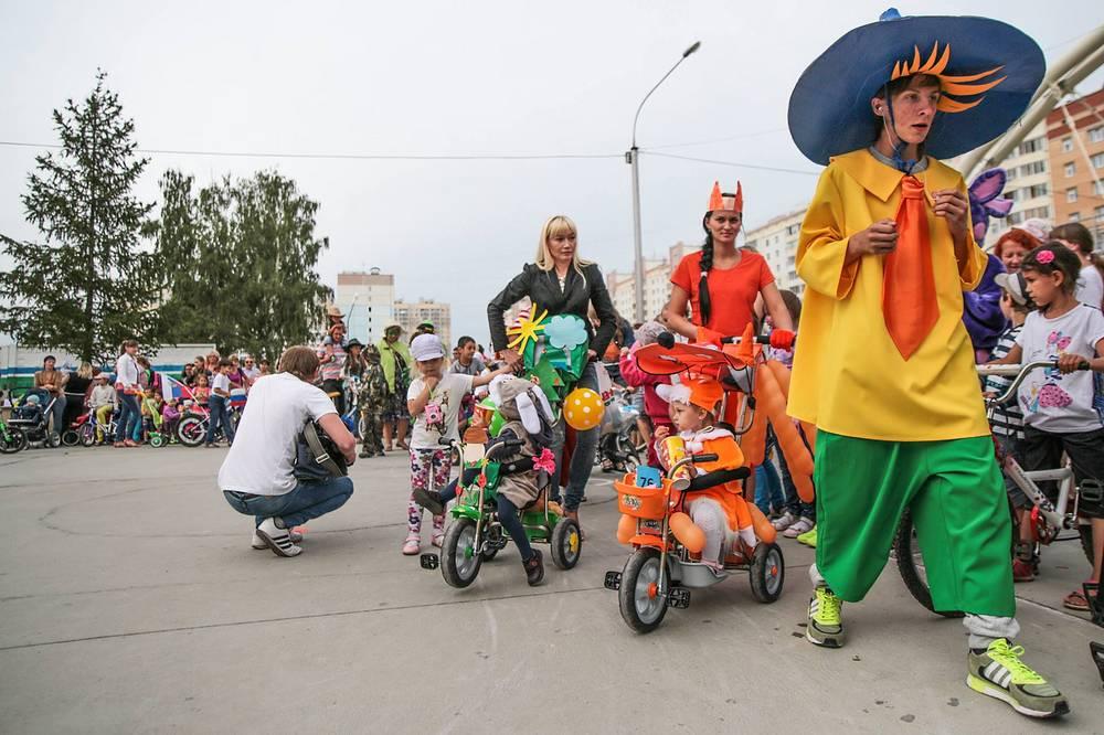 Мероприятие проходит при поддержке администрации города, а также ТОСов, которые получили на проведение праздника специальные гранты
