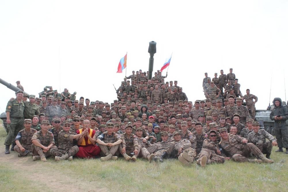 Учения, которые проводятся с 2008 года, были приурочены к 75-летию победы советско-монгольских войск над японской армией на реке Халхин-Гол