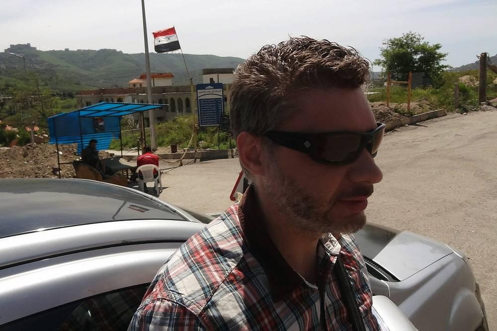 Недалеко от сирийской крепости Крак де Шевалье