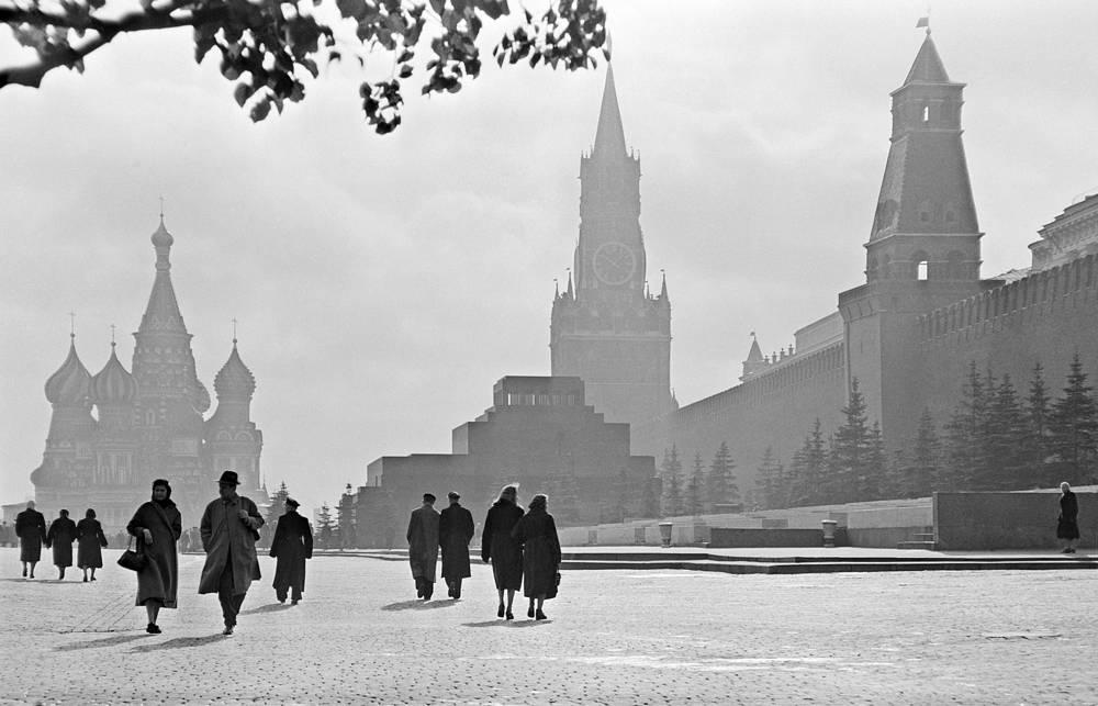 Красная площадь, 1957 год