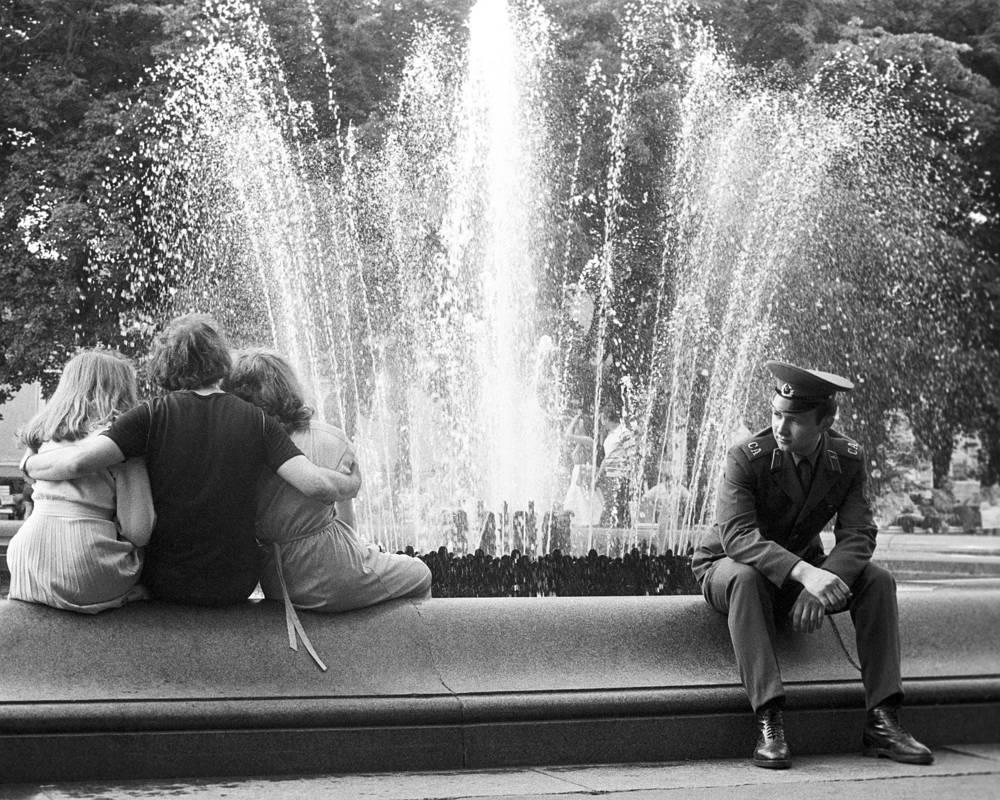 Фонтан на Пушкинской площади, 1981 год