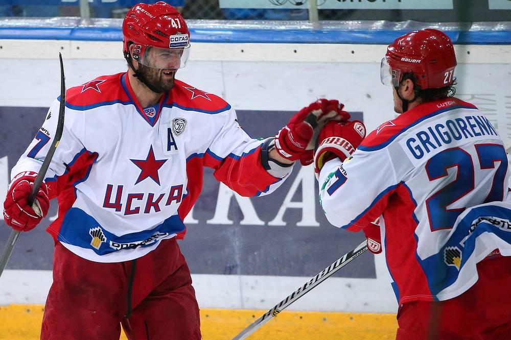 Александр Радулов (слева) и Игорь Григоренко