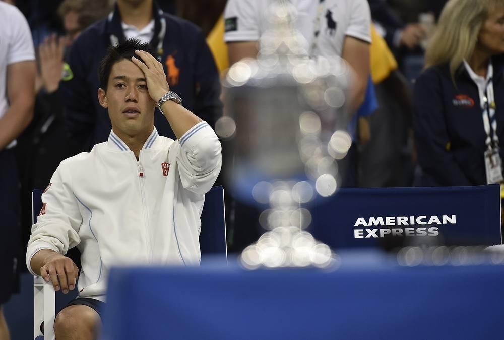 """Японец в случае победы мог стать первым в истории азиатским теннисистом, выигравшим турнир """"Большого шлема"""" в мужском одиночном разряде"""