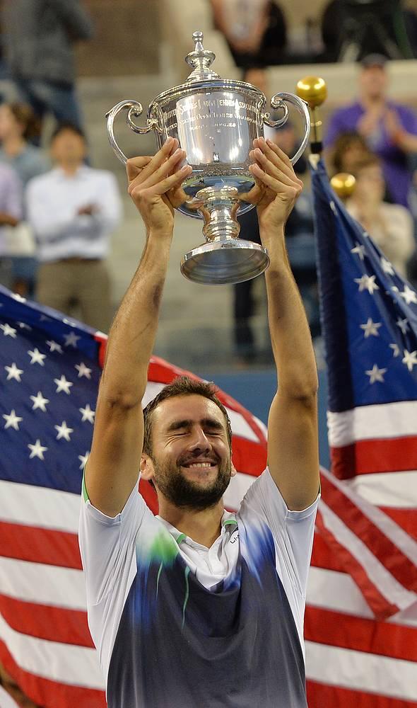 Хорват Марин Чилич впервые в карьере стал победителем US Open (Открытого чемпионата США по теннису), общий призовой фонд которого составляет $38,3 млн