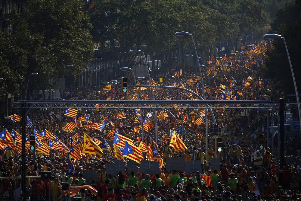 В манифестации приняли участие до 500 тыс. человек