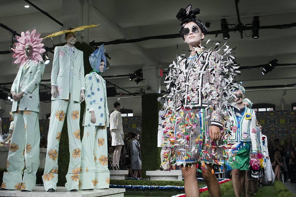 11 сентября в Нью-Йорке завершилась Неделя моды. На фото: показ коллекции Thom Browne