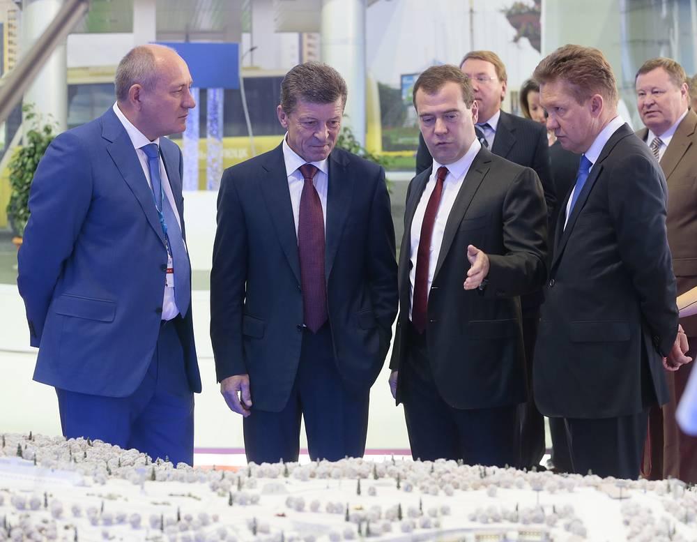 """Вице-премьер РФ Дмитрий Козак: """"Форум пройдет на олимпийских объектах, и это будет своеобразным тестом перед Олимпиадой-2014"""""""