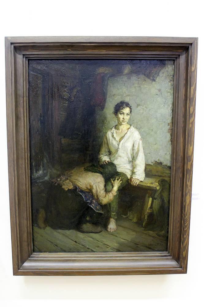"""И. Нестеров """"Зоя Космодемьянская"""". Холст, масло. 1957 год"""
