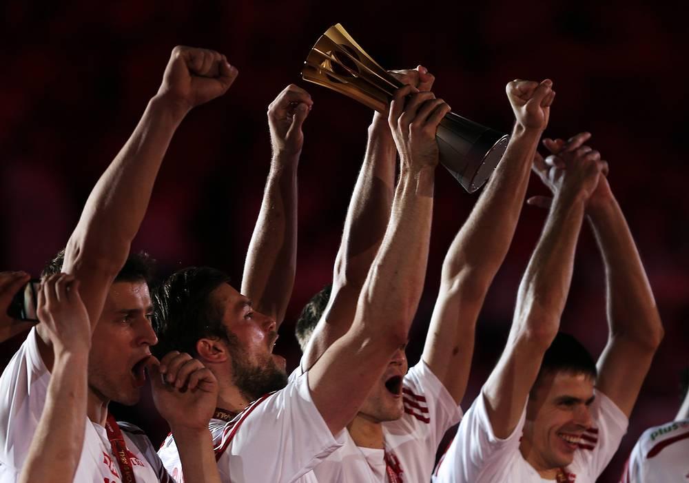 Поляки 40 лет спустя вновь завоевали золотые медали чемпионата мира