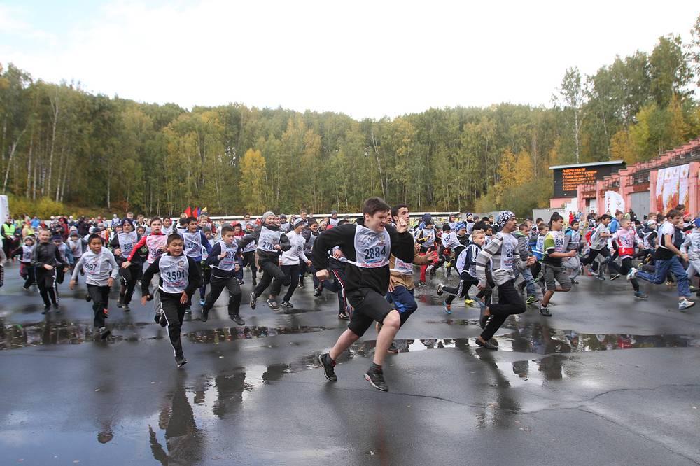 Главный массовый старт в области состоялся на стадионе Новосибирского биатлонного комплекса