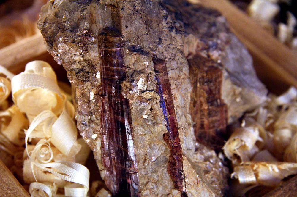 Гидрокуприт и тургалит из Богословска, Свердловская область. Коллекция великой княжны Ольги