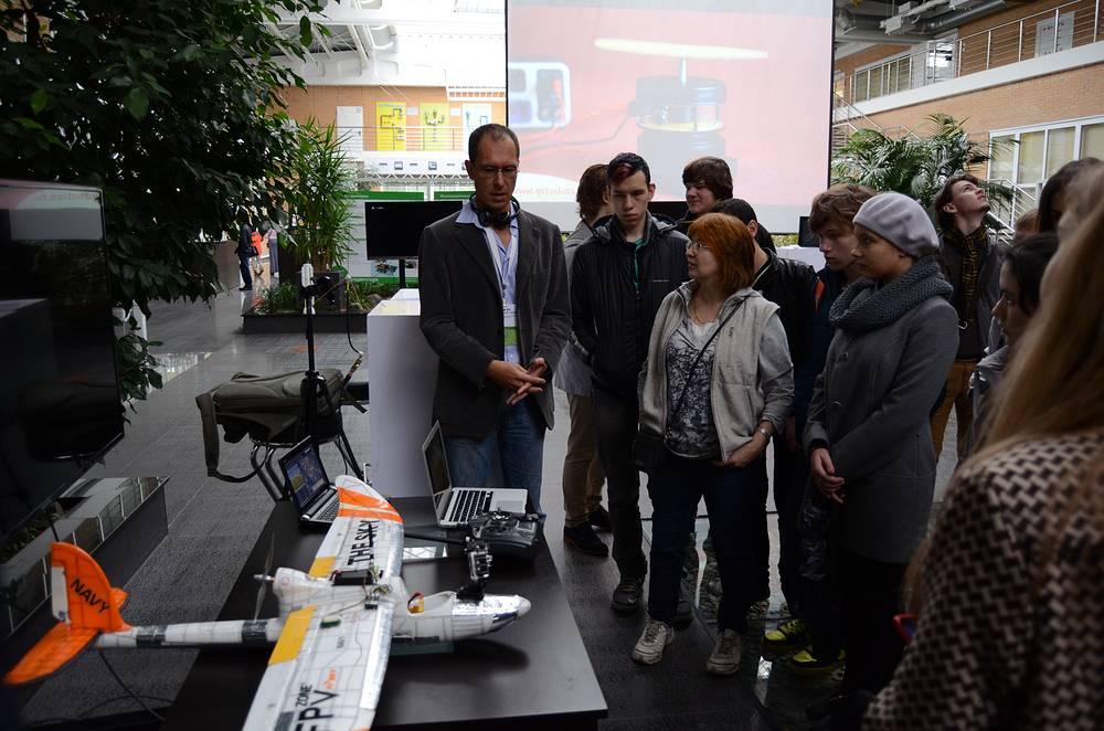 Выставка разработок резидентов новосибирского Технопарка