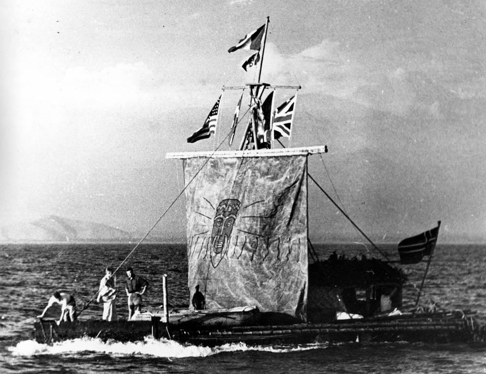 Плот состоял из девяти бальсовых бревен длиной от 10 до 14 м.  Экспедиция заняла 101 день, был проделан путь длиной 6,98 тыс. км от перуанского порта Кальяо до атолла Рароиа (Французская Полинезия)