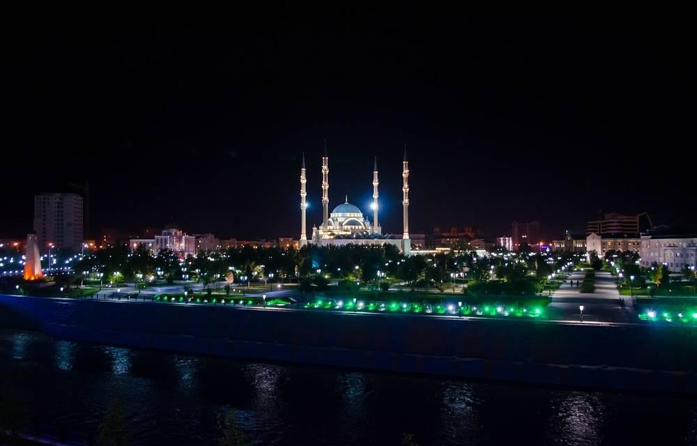 Мечеть «Сердце Чечни», одна из самых больших мечетей мира.