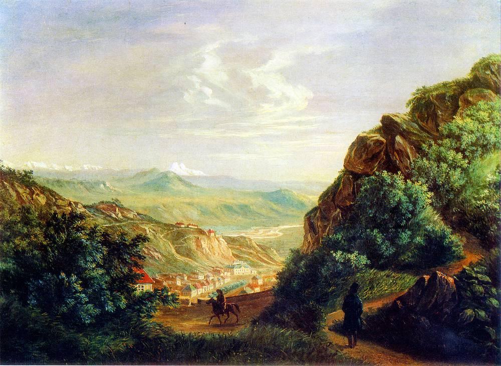 """""""Пятигорск"""" (масло, 1837)"""