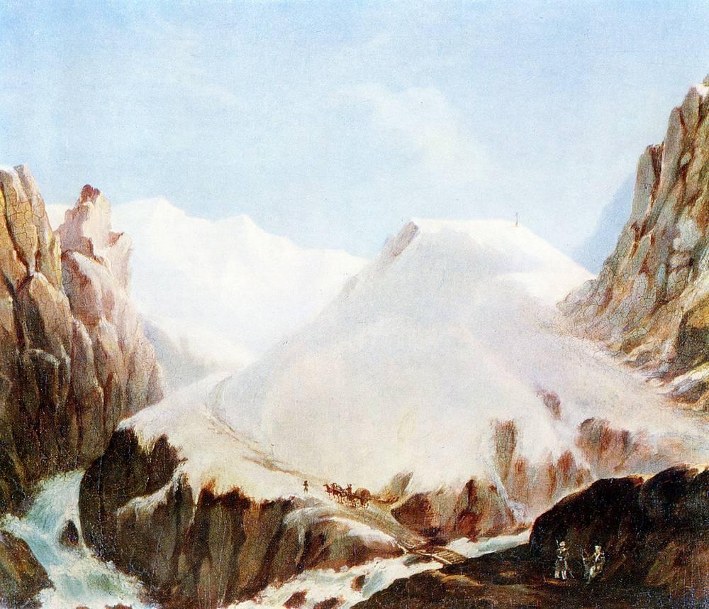 """Крестовая гора"" (масло, 1837-1838)"