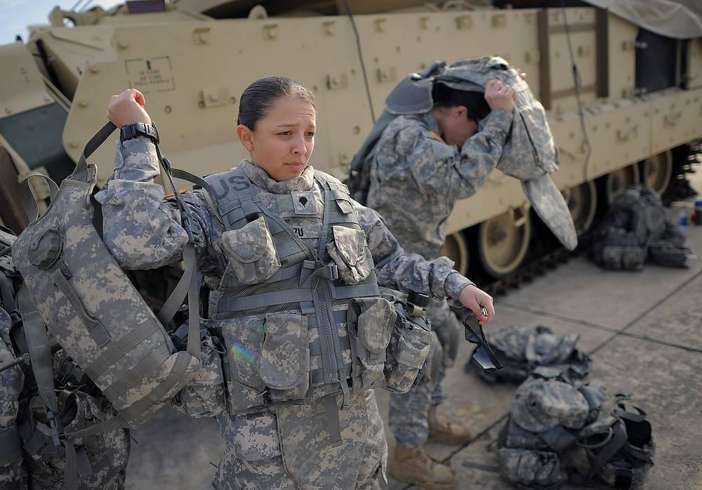 Женщины армии США, штат Джорджия, 2014 год