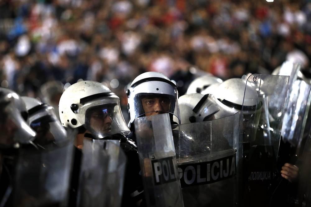 Сербская полиция