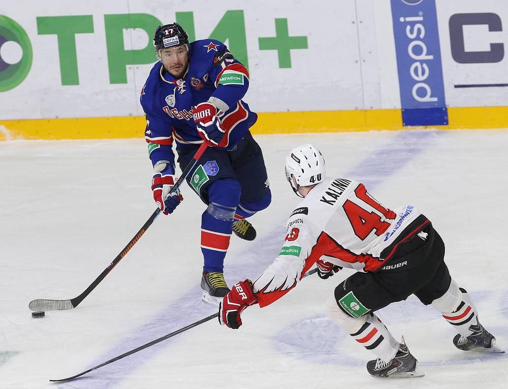 Илья Ковальчук укрепил свое лидерство в гонке лучших бомбардиров КХЛ. Теперь на его счету нападающего 31 очко (16+15)