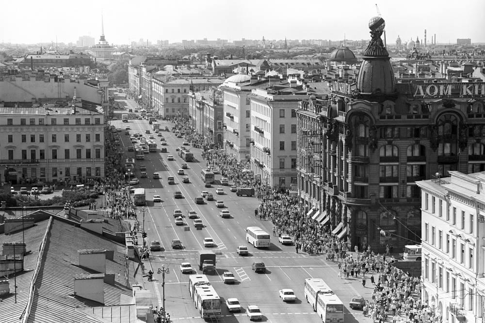 Невский проспект,1991 год