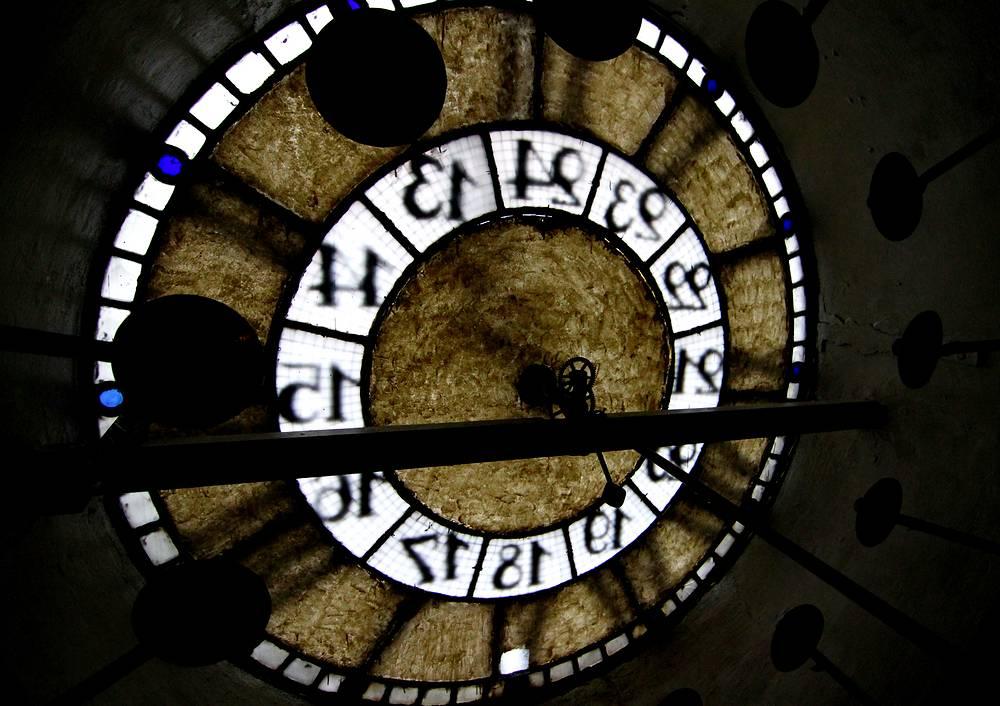 Часы в Музее истории Центрального телеграфа в Москве