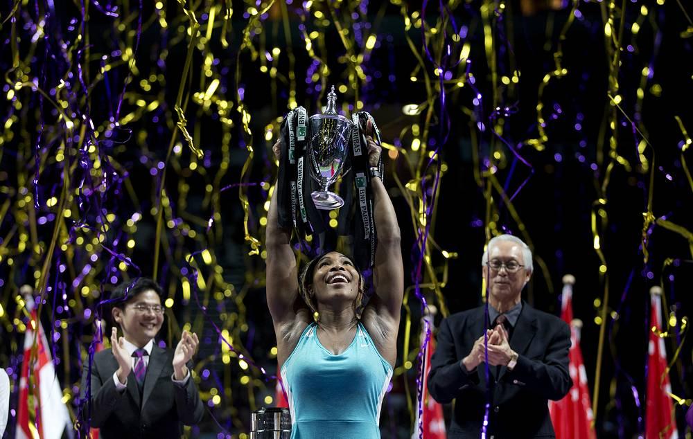 Спортсменка становилась лучшей в 2002, 2009 и 2013 годах