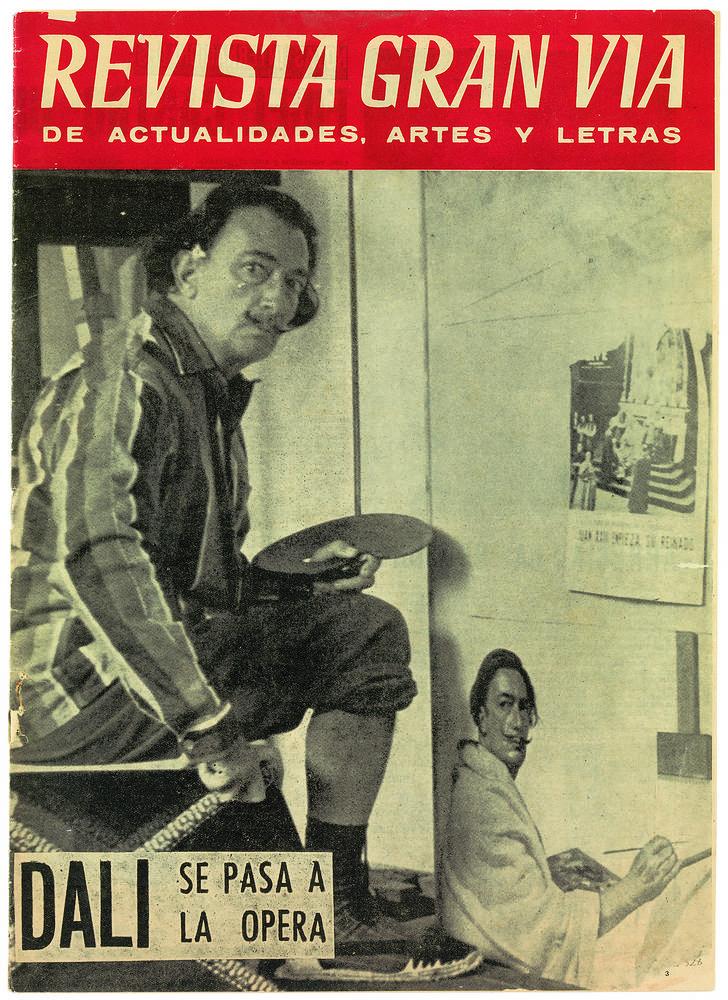 Издание Revista Gran Via de Actualidades, 1960 год