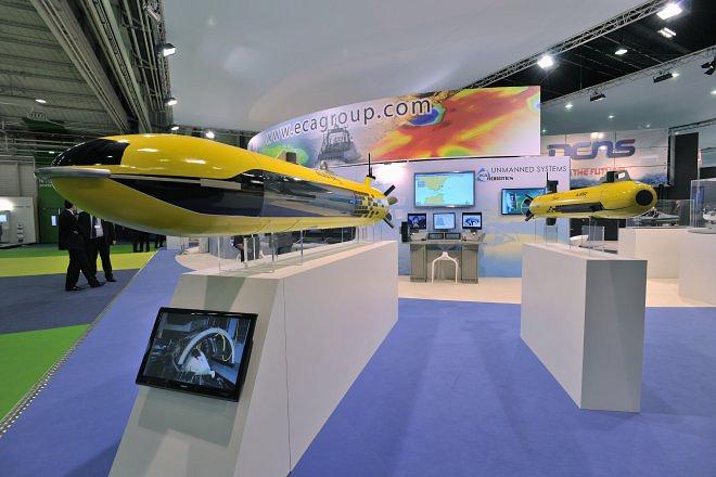 Французская компания ECA Group специализируется в области робототехники, моделирования и военно-морской техники