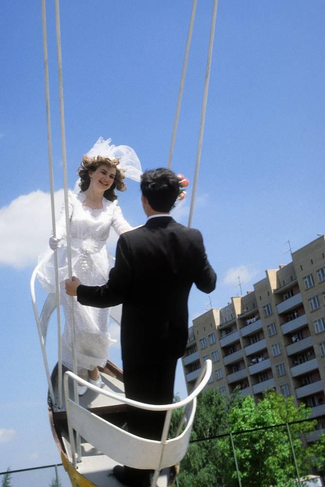 Свадьба в Подмосковье, 1981 год